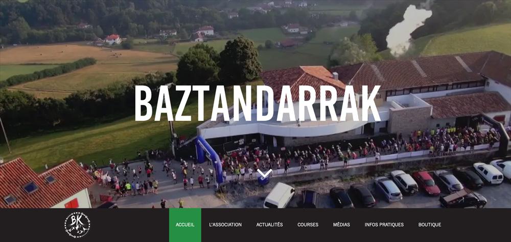 Création site internet de Baztandarrak